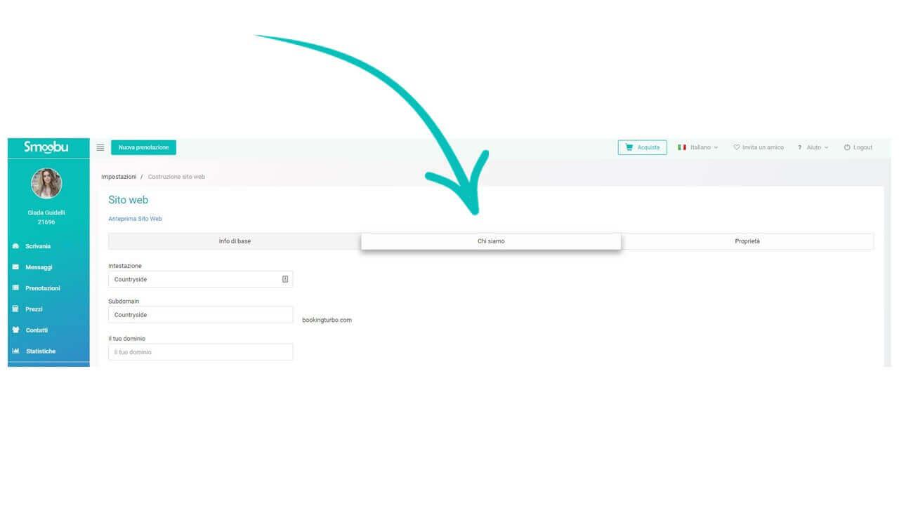 ᐅ GUIDA ALL'USO: come creare il sito web delle tue case vacanza