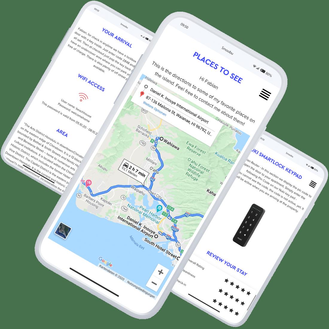 ᐅ Digitale Gästemappe für Ferienwohnungen   Smoobu