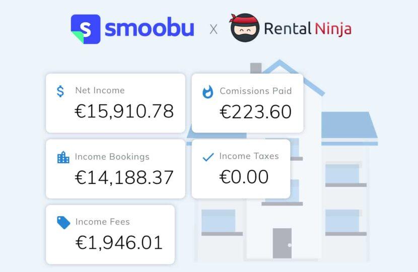 ᐅ Automatiza tu gestión con Rental Ninja y Smoobu
